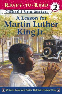 A lesson for Martin Luther King, Jr. cover
