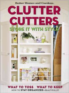 Clutter cutters : store it with style cover