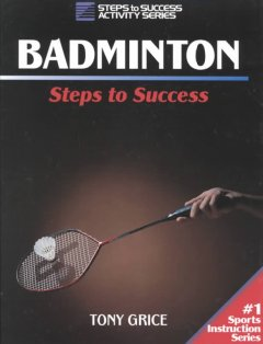 Badminton : steps to success cover