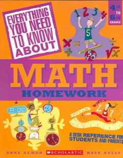 Everything you need to know about math homework cover