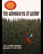 The adventures of Spider; West African folk tales, cover