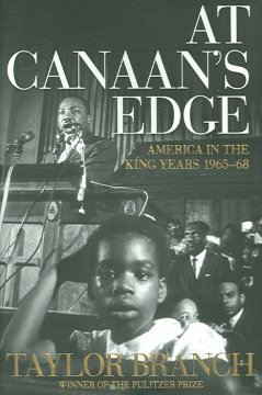 At Canaan's edge : America in the King years, 1965-68 cover