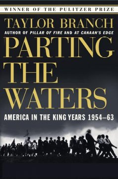 parting the waters :america in the king years, 1954-63 cover