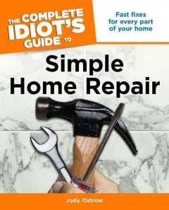 complete idiot's guide to simple home repair cover
