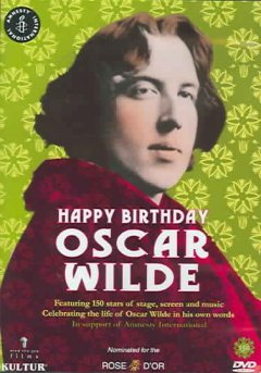 Happy birthday Oscar Wilde cover