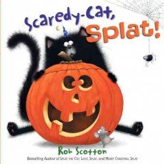 Scaredy-cat, Splat! cover
