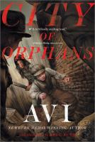City of orphans - Cover Image