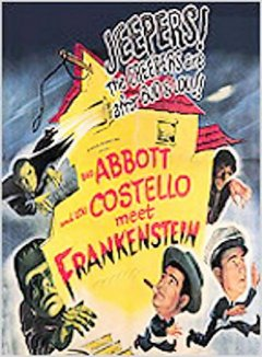 Bud Abbott, Lou Costello meet Frankenstein cover