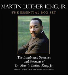 Martin Luther King, Jr. the essential box set : the landmark speeches and sermons of Dr. Martin Luther King, Jr. cover