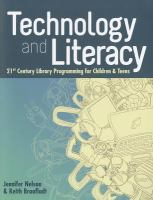 Technology and literacy : 21st century library programming for children and teens cover
