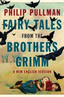 Fairy tales from the Brothers Grimm : a new English version cover