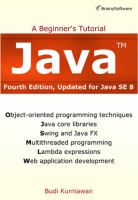 Java : a beginner's tutorial - Cover Image