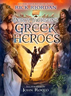 Percy Jackson's Greek heroes - Cover Image