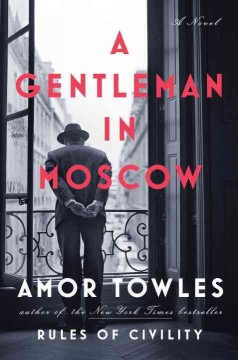 A gentleman in Moscow - Cover Image