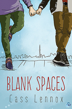 Blank spaces cover