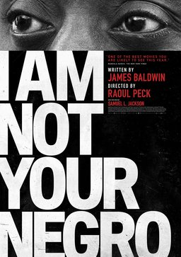 I am not your negro. cover