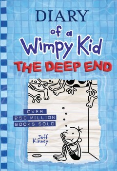 Diary of a wimpy kid : the deep end cover