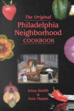 The original Philadelphia neighborhood cookbook cover