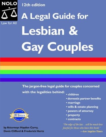 A Legal guide for lesbian and gay couples. cover