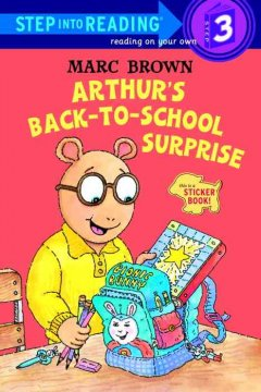 Arthur's back-to-school surprise cover