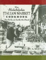 The Philadelphia Italian market cookbook : the tastes of South 9th Street cover