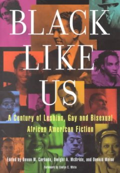 Black like us : a century of lesbian, gay and bisexual African American fiction cover