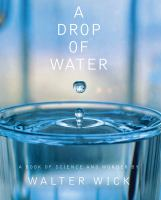 A drop of water : a book of science and wonder cover