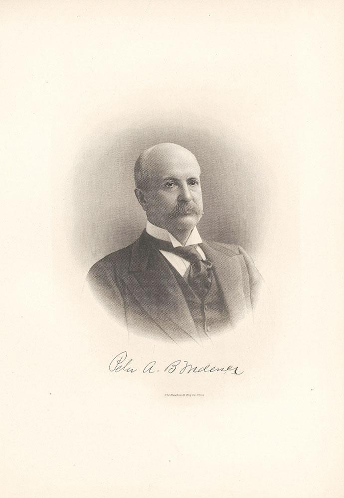 Portrait of Peter A.B. Widener.