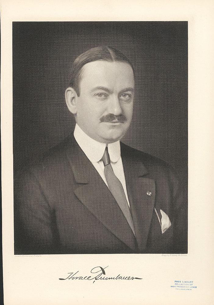 Portrait of Horace Trumbauer.