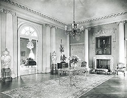 Main Entrance Hall of Whitemarsh Hall, residence for E.T. Stotesbury, Springfield, PA, 1919