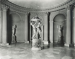 Rotunda of Whitemarsh Hall, residence for E.T. Stotesbury, Springfield, PA, 1919