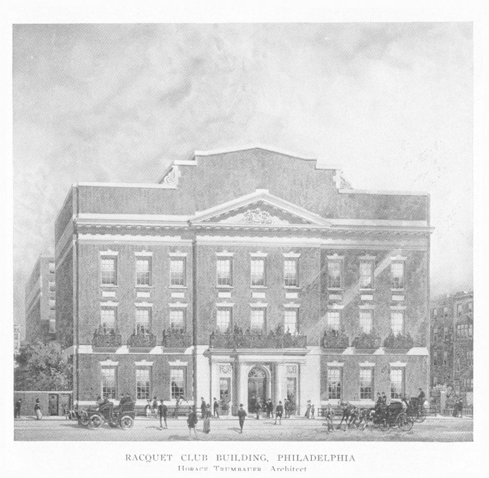 Racquet Club Building, Philadelphia