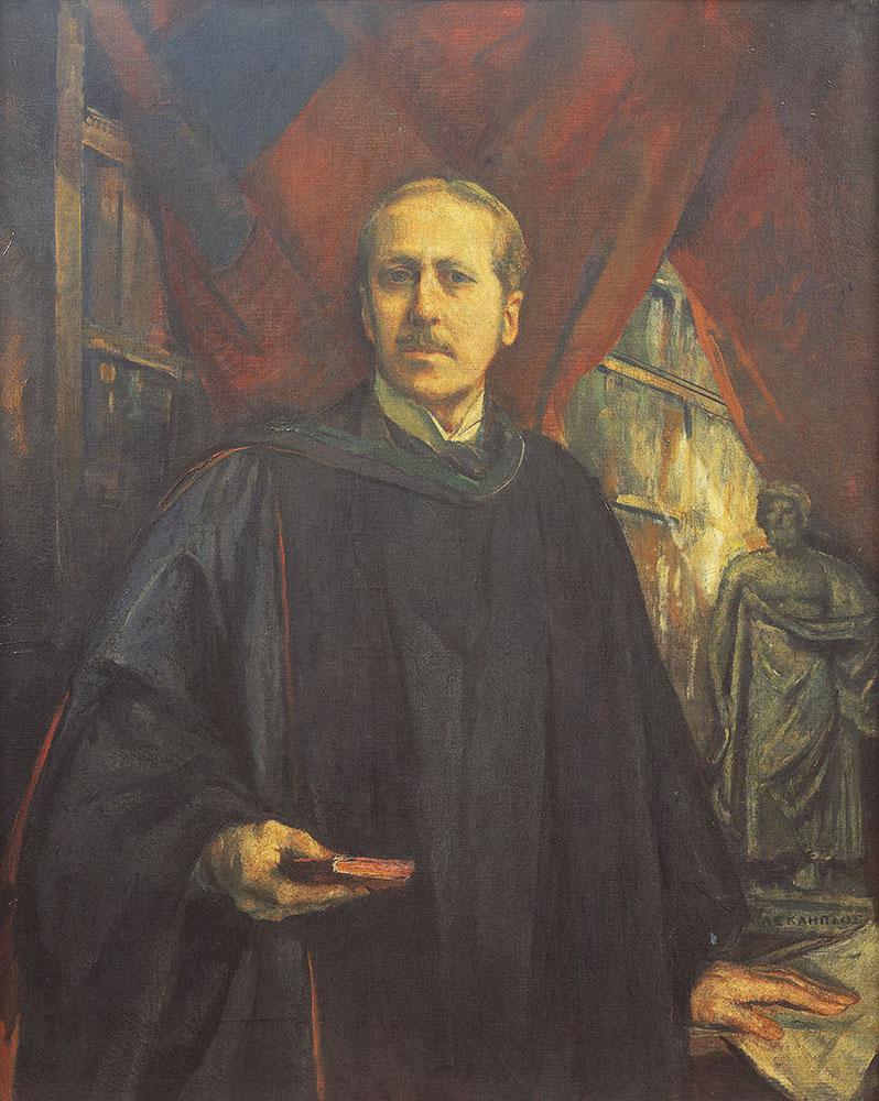 Portrait of Dr. William Pepper
