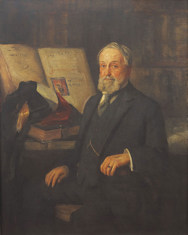 Portrait of librarian John Thomson