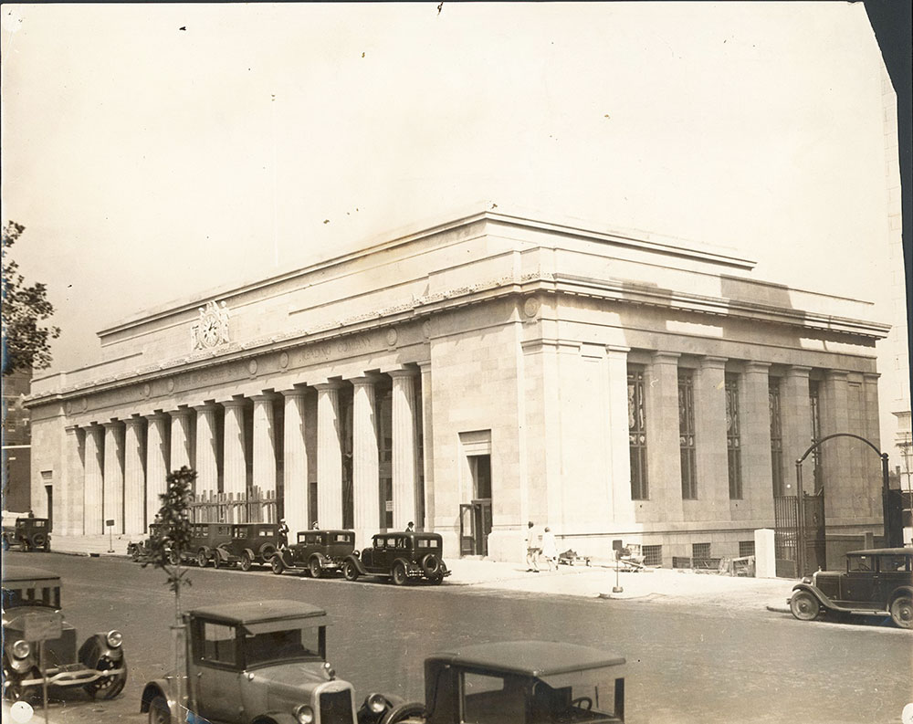 Philadelphia and Reading Railroad North Broad Street Station, Philadelphia by Horace Trumbauer, 1928