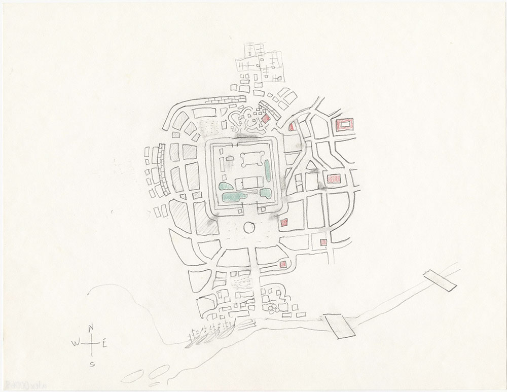 Second version of map of Marianstat, for The Beggar Queen