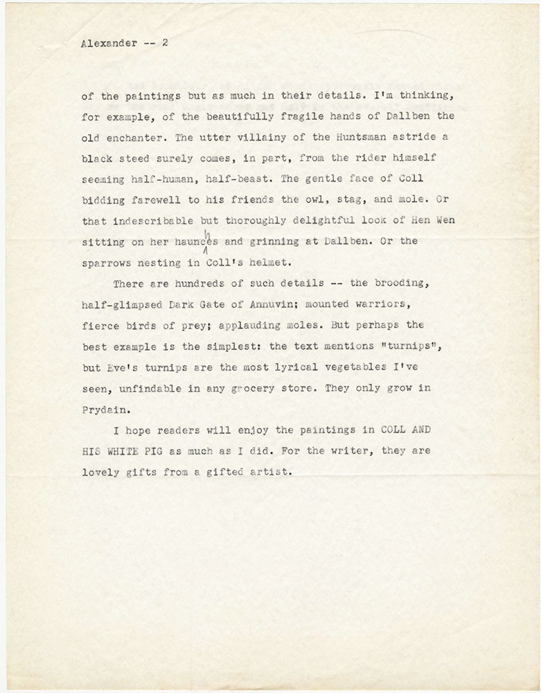 Essay on picture books, page 2