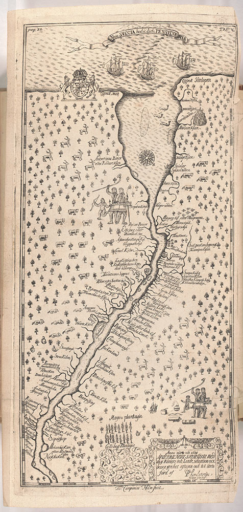 Map of the Bay and River Delaware