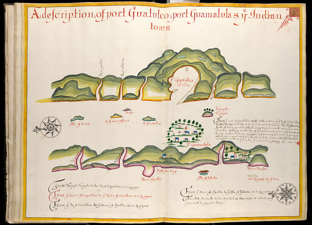 A description of port Guatulco; port Guamalula & ye Indian town