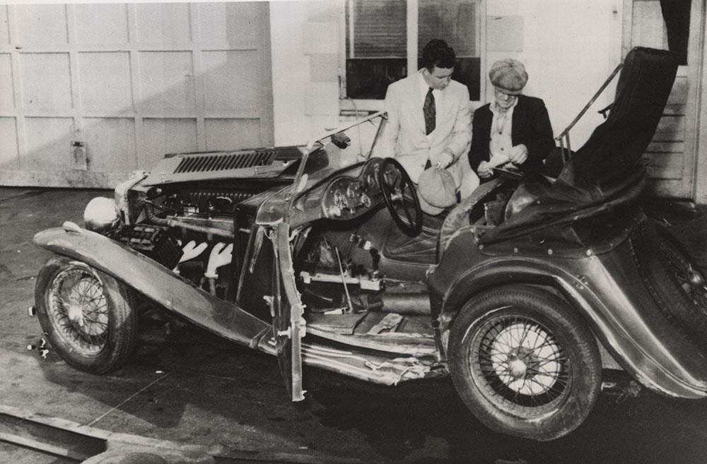 Charles Butterworth\'s Fatal Car Accident - Digital Collections ...