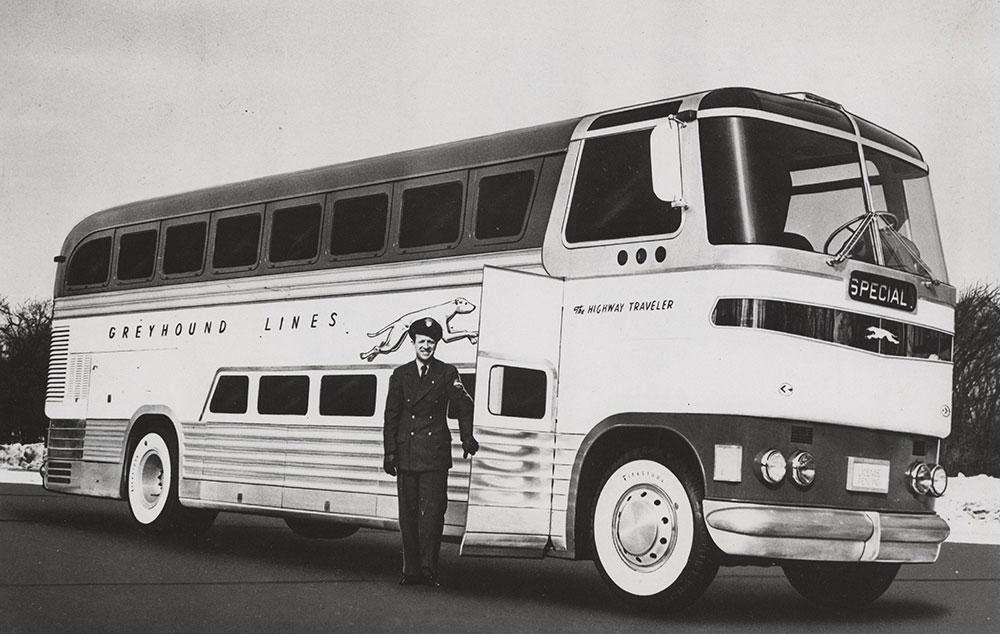 Greyhound 50 Passenger Bus 1948