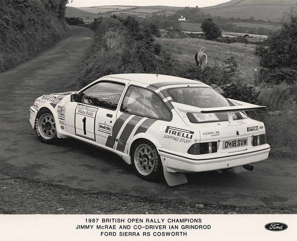 British Open Rally Champs 1987