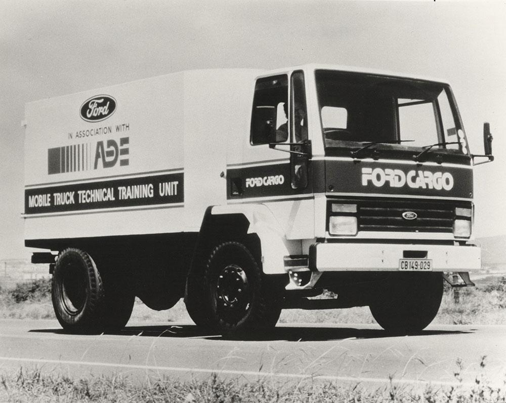 Mobile Truck Tech Training Unit