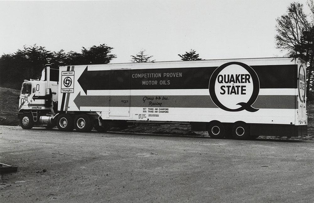Quaker State Truck
