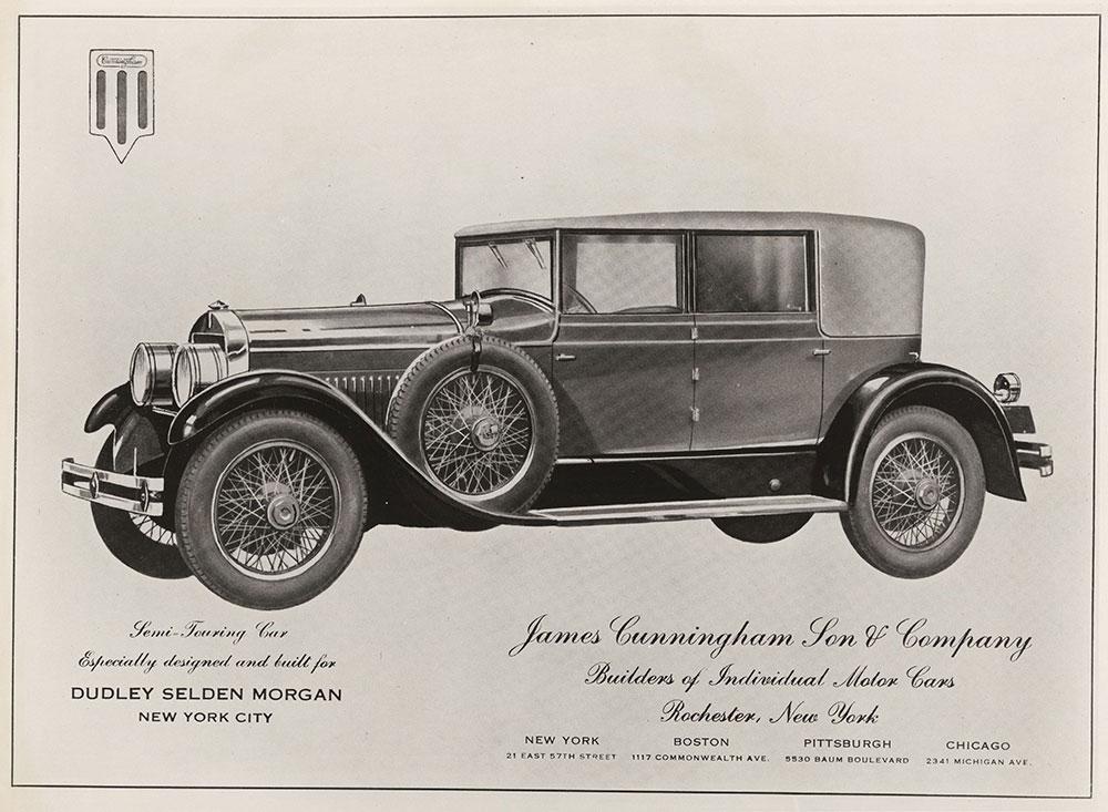 Cunningham Semi-Touring Car