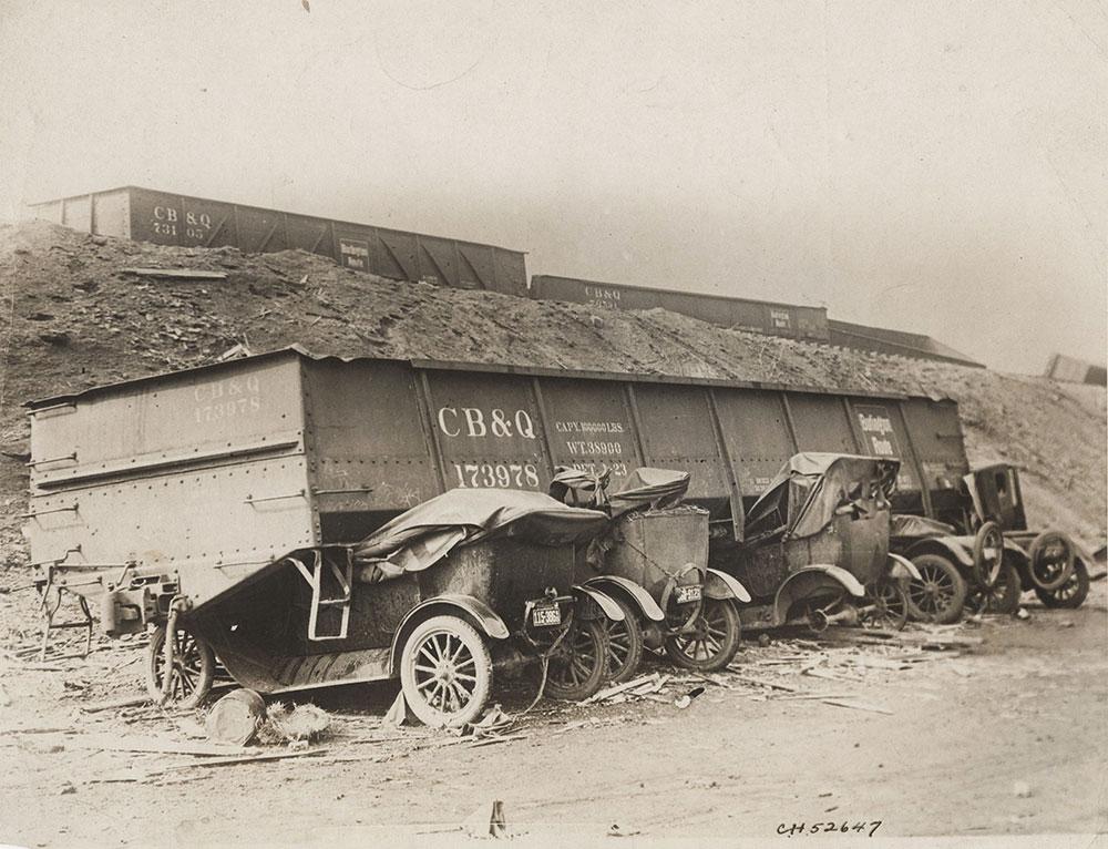 Fords Destroyed in Tornado