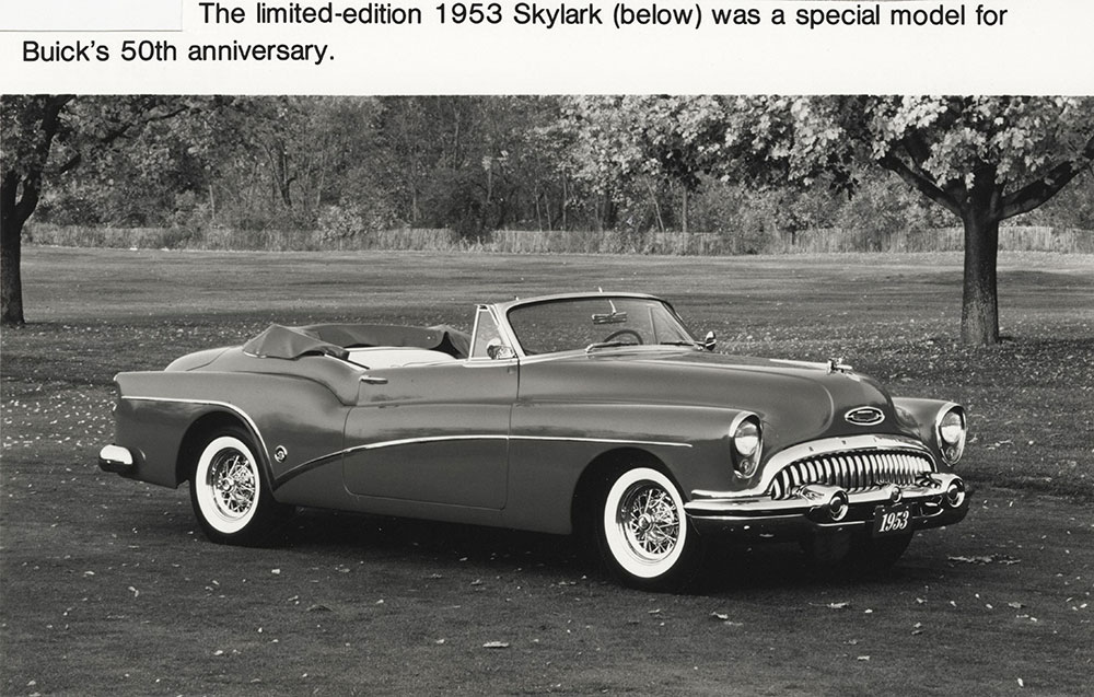1953 Buick Skylark Digital Collections Free Library