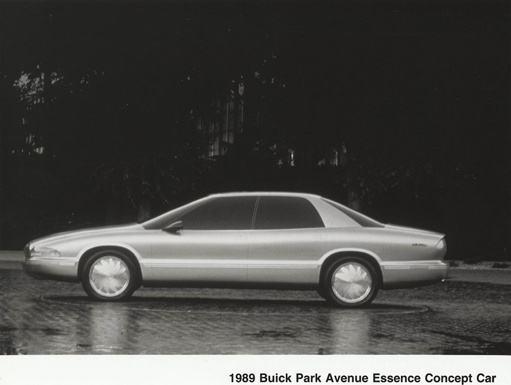 1989 buick park avenue essence concept car digital collections free library 1989 buick park avenue essence concept
