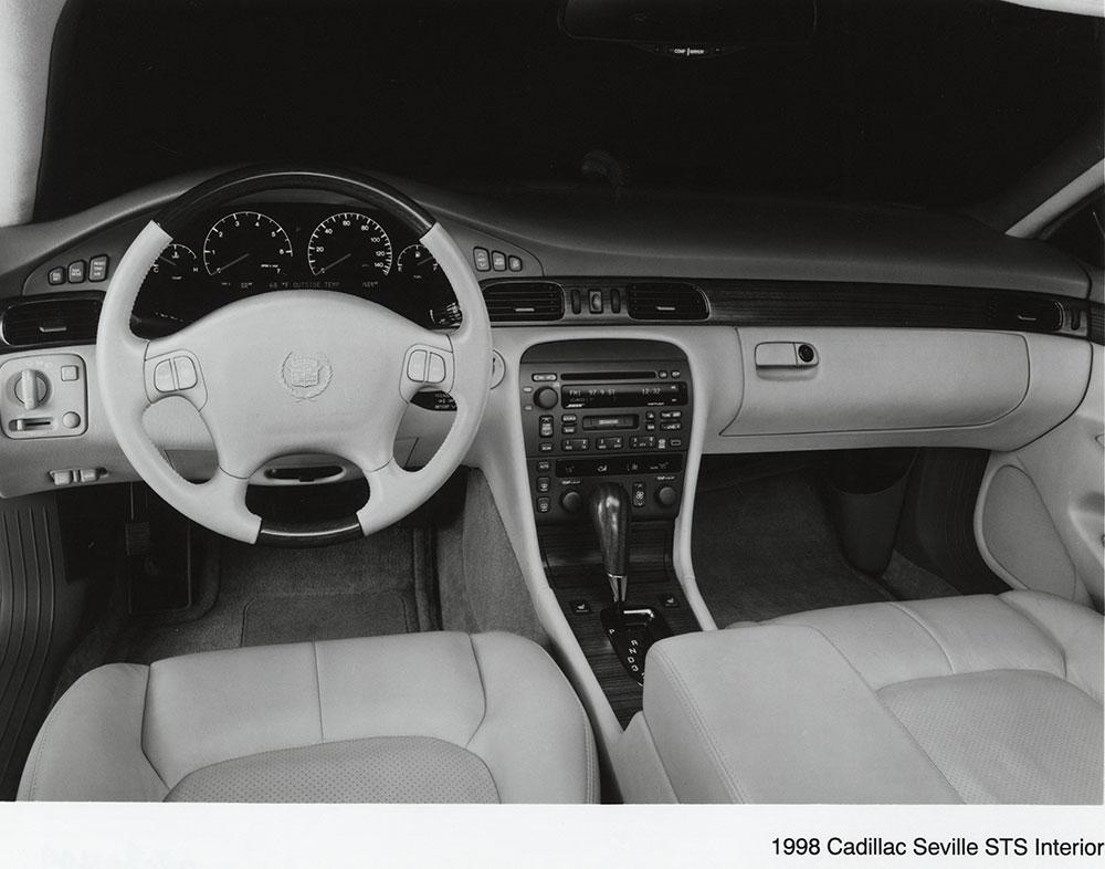 cadillac 1998 sts