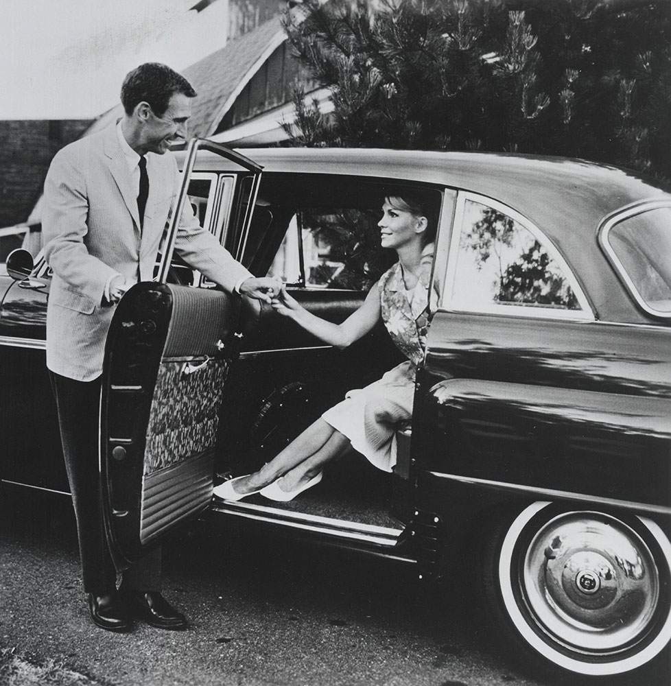 Checker - 1967 Marathon 4-door sedan, rear passenger door